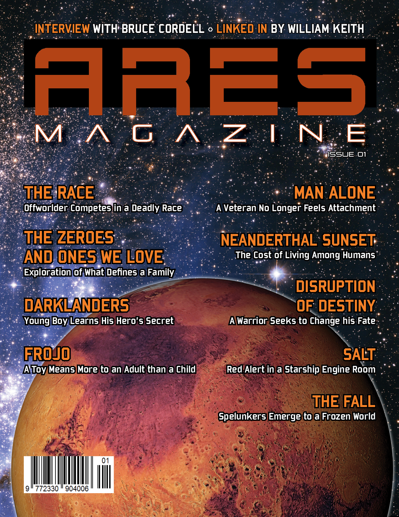Issue 1 of Ares Magazine